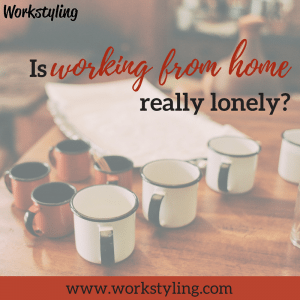 working from home lonely